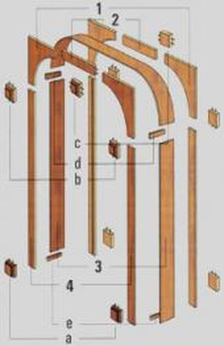 Как установить межкомнатную арку рено своими руками 59